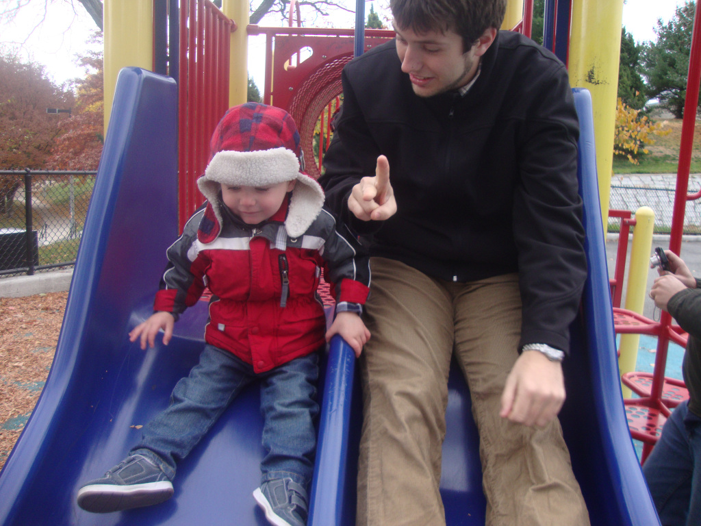 emmett-dad-slide